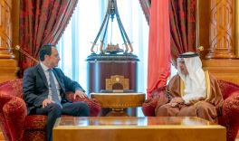 Deputy King receives the Minister of Foreign Affairs of the Republic of Cyprus