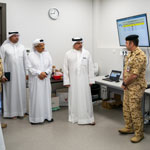 HRH Crown Prince visits the National Task Force for Combatting COVID-19 Operations Room