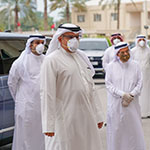 HRH the Crown Prince visits COVID-19 health care facilities across the Kingdom