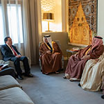 On behalf of HM the King, HRH Crown Prince receives invitation to the 30th Arab League Summit