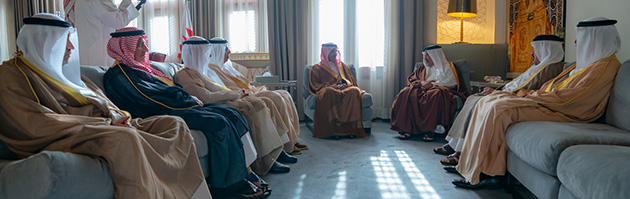 HRH Crown Prince highlighted the strength of cooperation and unity between Bahrain, KSA, UAE and Kuwait